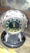 Kristályüveg Asztali óra