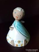 Bolgár Judit kerámia angyalka angyal