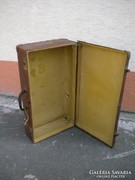 U293 Antik nagyméretű VULCAN FIBER bőrönd