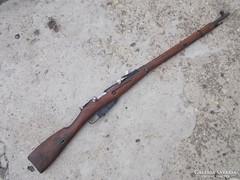Nagant M1891 puska hatástalanítva