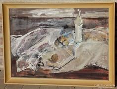 Wágner János Csendélet képcsarnoki 56x76cm eredeti