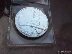 2012 Kanada Párduc ezüst 31,1 gramm 0,999 R