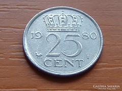 HOLLANDIA 25 CENT 1980
