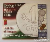 2006 FORGALMI SOR PP EZÜST 1 FORINTOSSAL.