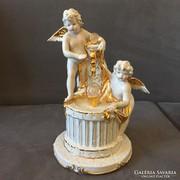 Capodimonte putto figuras porcelan szobor!