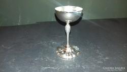 Ezüst likőrös pohár