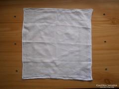 1243. Azsúrozott hófehér zsebkendő