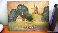 Nagyon régi festmény