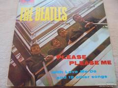 Beatles bakelit lemez