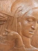 Simó Ágoston falikép