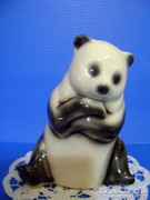 Orosz kijevi porcelán aranyos Panda Maci medve