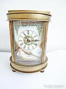 Régi hatású, kézzel festett pontos mechanikus óra