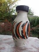 Akció !Gorka Lívia váza tigriscsíkos jelzett, hibátlan szép