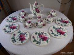 Antik1992-ből Angol 6 szem.teás/kávés/sütis porcelán készlet