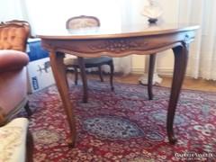 Étkezőasztal (kihúzható) bükkfából