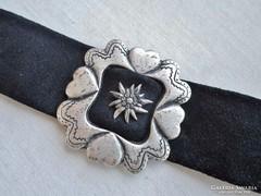 Gyönyörű antik ezüstözött nyakpánt