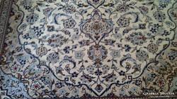 LUXUS  kézi csomózású perzsaszőnyeg származása Perzsia/Irán