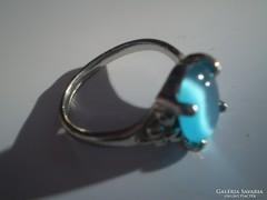 Kék  olcsó gyürű