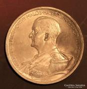 Horthy 5 Pengő, ezüst 1939