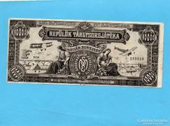 Repülők Tárgysorsjáték 1927 10.000 Korona