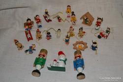 Karácsonyi dekorációk 24 db  01 ( 011 )