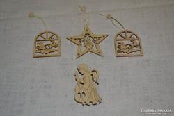 Karácsonyi dekorációk 4 db  04 ( 011 )