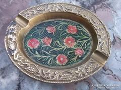 Zománc-réz hamutál dekoratív kivitel -ajándékba is