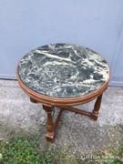 Art deco márványlapos kisasztal vagy virágtartó