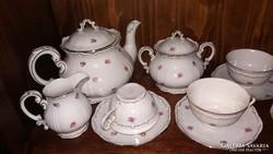 Zsolnay Barokk 6-személyes teás készlet