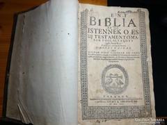 Váradi  Biblia - Szent Biblia.1661