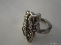 Pici pillangós olcsó gyűrű
