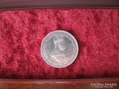 F. József ezüst 1 korona 1896.