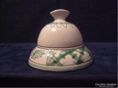 Porcelán festett antik Csengő
