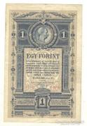 1 forint / gulden 1882 Nem javított