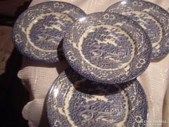 Angol süteményes tányér 4 darab