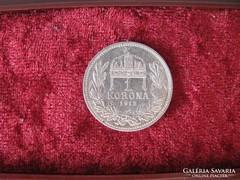 Ferenc József ezüst 1 korona 1912.