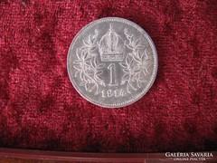 Ferenc József ezüst 1 korona 1914.