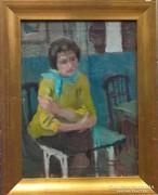 Mácsai István festmény