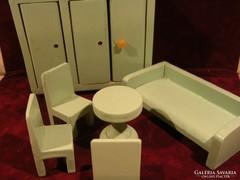 Gyermekjáték - fa nappalibútor