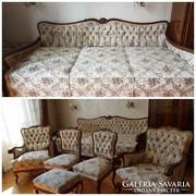 Barokk 6 darabos nappali