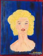 P. Kubiczek / Marilyn Monroe -szép portré
