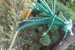 Vintage Metal art fém légy szúnyog acél szobor 40cm