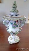 Barokk váza (herendi viktória mintával)