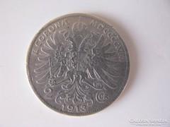 Ferenc József ezüst 2 korona 1913.