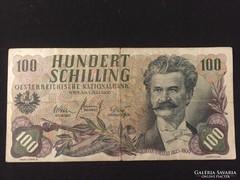 100 schilling 1960