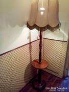 Antik körasztalos állólámpa