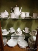 12 személyes porcelán teás-, vagy kávés készlet