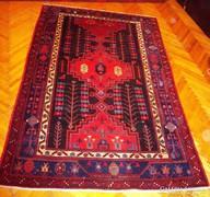 Gyönyörű kézi csomózású Iráni nomád MALAYER szőnyeg!
