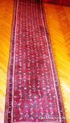 Gyönyörű kézi csomózású iráni HAMADAN perzsa szőnyeg!