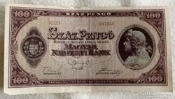 1945 aprilis 5 100 pengo